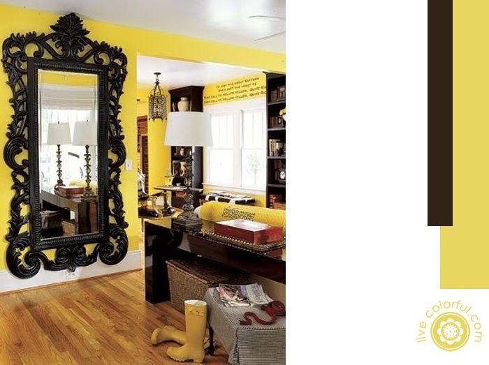 Paredes con Muebles Oscuros | Live Colorful