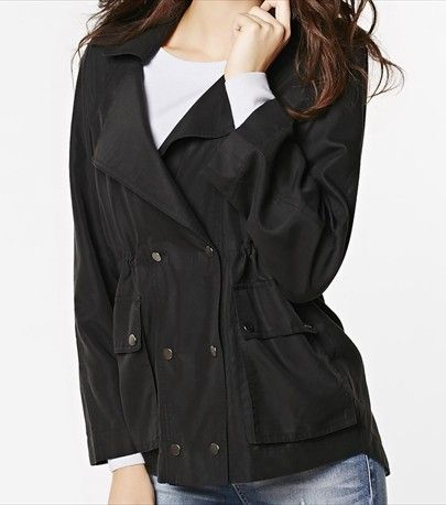 Be ready for the rainy days with this stylish soft and light parka.