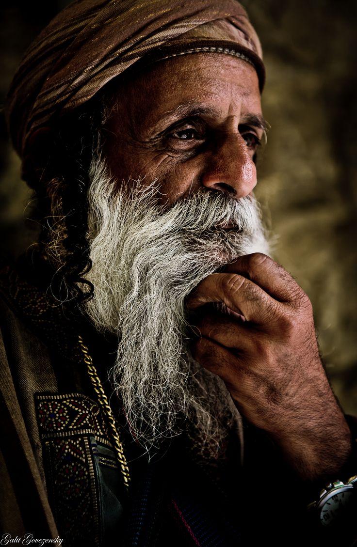 Yemenite Jew in Mahane Yehuda market, Jerusalem, Israel | by Galit Govezensky