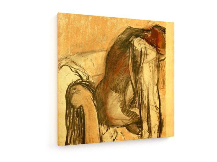 Degas / After the bath /  c. 1900/05 #Edgar #Degas #weewado #edgar #degas #personal #hygiene #bath #woman
