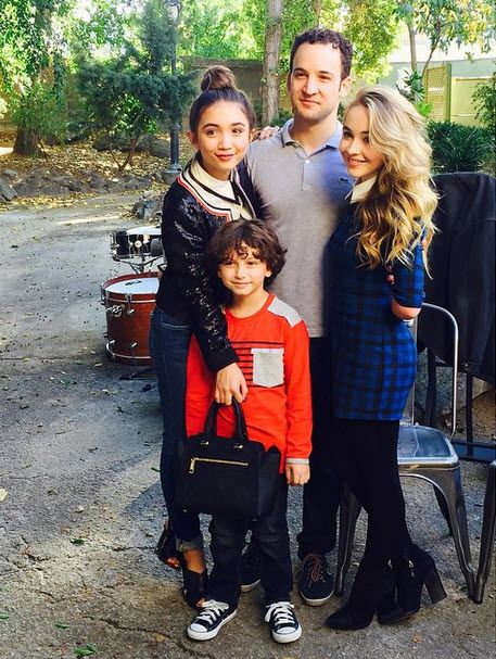 Rowan Blanchard, Sabrina Carpenter, August Maturo & Ben Savage