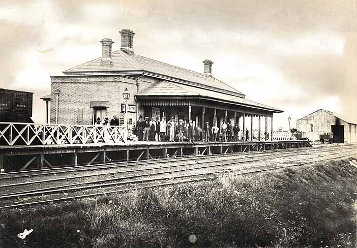 Penrith Railway Station, 1862