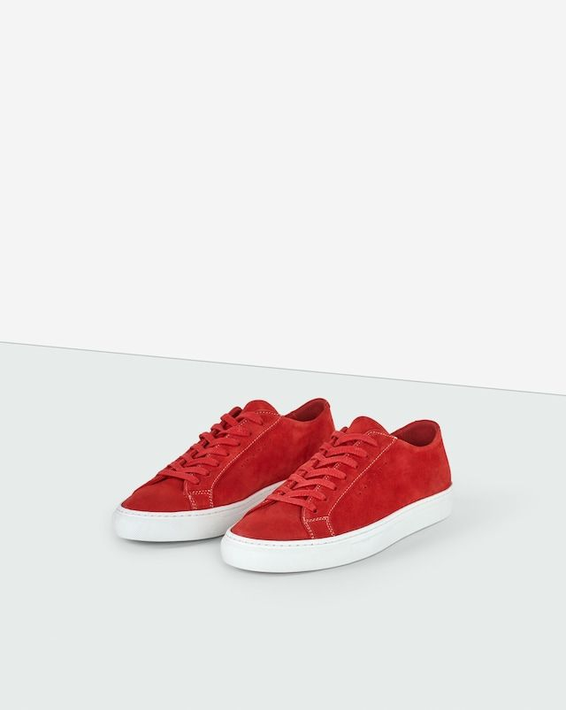 Kate Seasonal Sneaker Poppy Suede