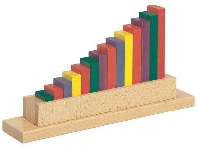 JEUX DE TRI Du plus petit au plus grand - Méthode Montessori - Troubles de l'apprentissage - HandiSolutions 26,3€ 14 tailles Wesco