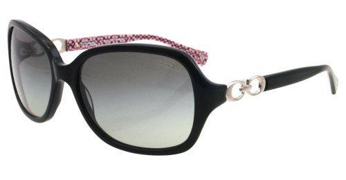 Coach Womens HC 8019 BEATRICE Black/Grey Sunglasses 60mm Coach http://www.amazon.com/dp/B007D54PL0/ref=cm_sw_r_pi_dp_3nSNtb00KZ9H010X