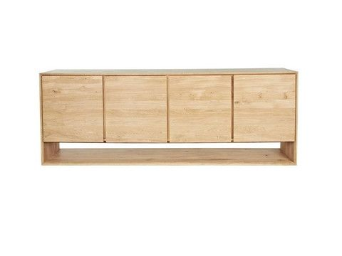 BSF | Oak 4 Door Buffet | The Banyan Tree Furniture