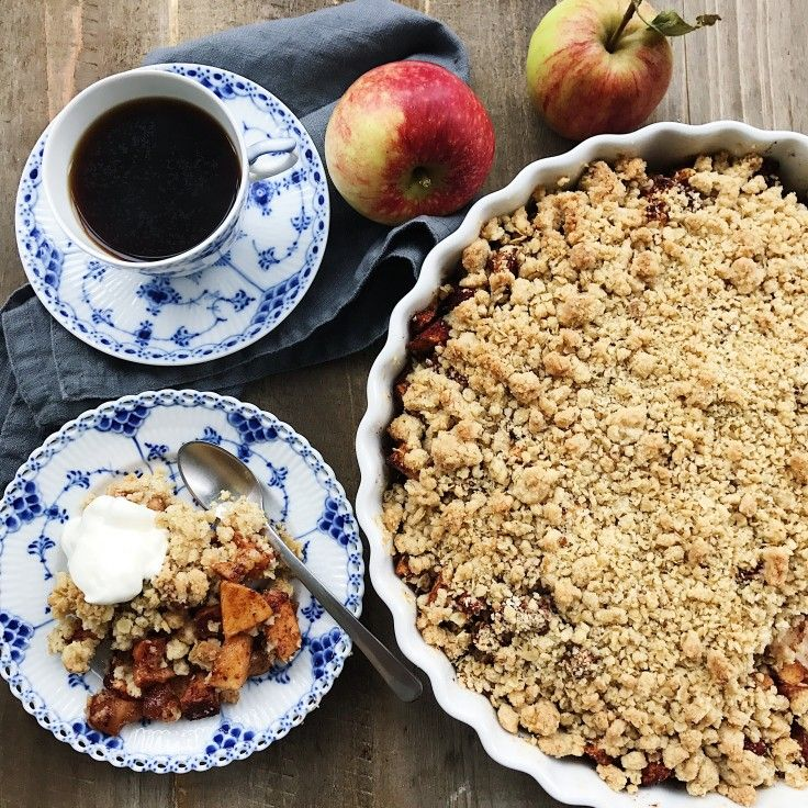Die besten 25+ Æblecrumble opskrifter Ideen auf Pinterest - ideen für küchenwände