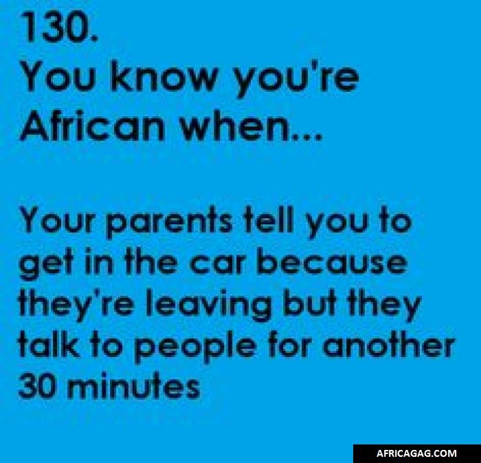 African kid problems