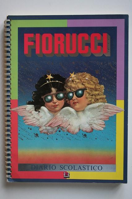 Fiorucci Diary/  I had this exact agenda in h.s.  Chomp on this @Juniper Lee
