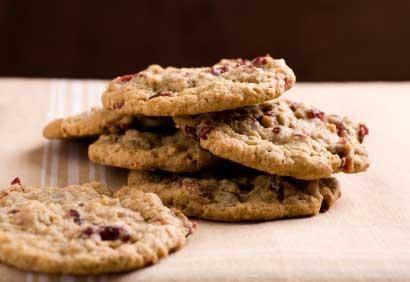 Biscuits à l'avoine, au chocolat et aux canneberges
