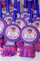 Blow horns : Doc MC Stuffins Themed Horns.. Make some Noise when the candles get blown out!!
