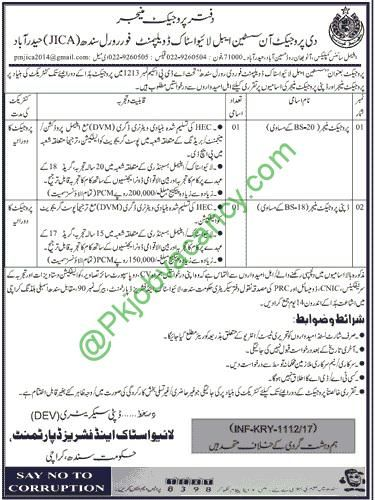Sindh Livestock and Fisheries Department Jobs Dawn Newspaper 10 March 2017