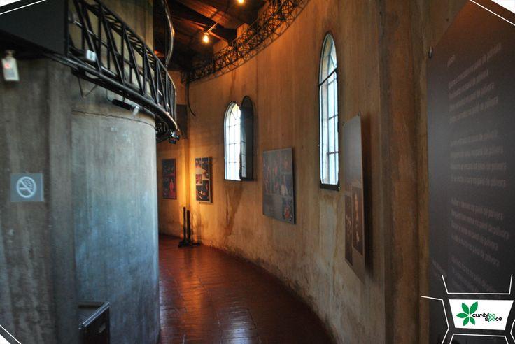 Interior do Teatro do Paiol