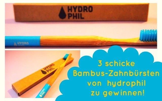 3 hydrophil Bambus-Zahnbürsten zu gewinnen!