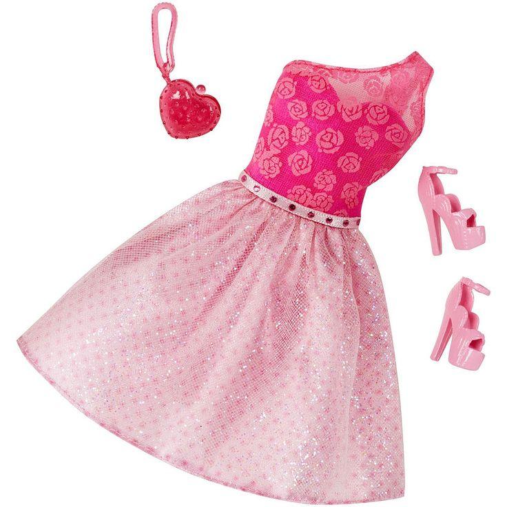 <strong>Barbie - Vestido DeLuxe</strong> (varios modelos), un precioso vestido de fiesta con complementos como bolso y zapatos. Un pequeño conjunto para que la muñeca de <strong>Barbie</strong> pueda estar perfecta. Edad recomendada: +3 años.<br>Varios modelos. La selección del modelo se hará según la disponibilidad. Puedes recibir cualquier modelo del surtido al realizar la compra, incluidas referencias que no figuran en las fotos. Precio por unidad.