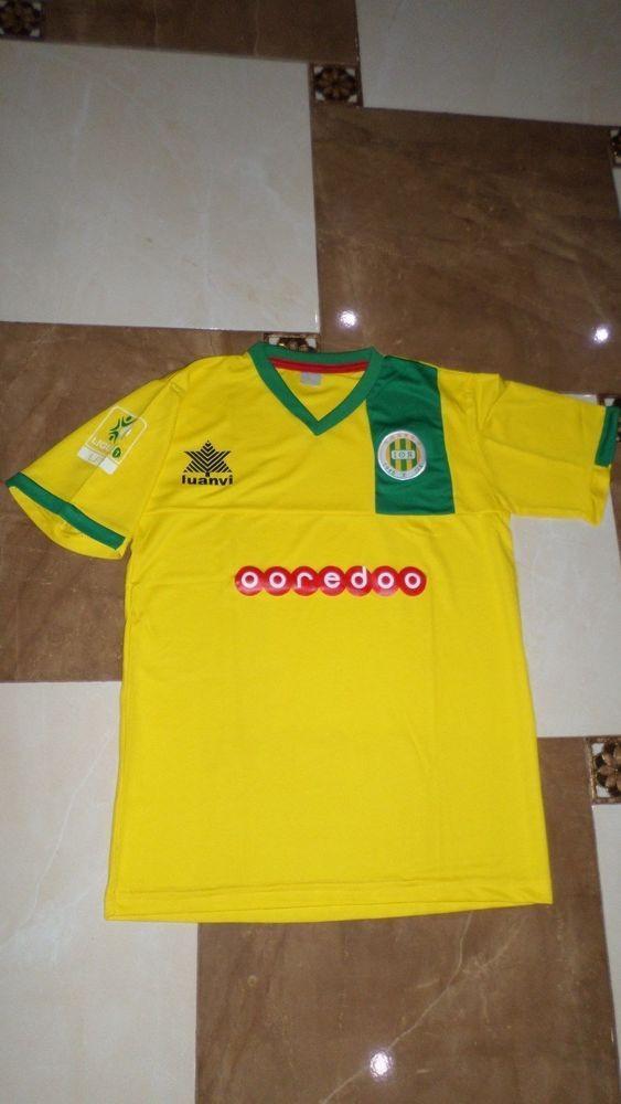 b258f522 New Rare Algeria Football JS Kabylie MAGLIA JERSEY Shirt MAILLOT Soccer  Yellow #LUANVI #JSKabylie