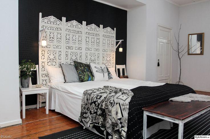 säng,sovrum,vikvägg,skärmvägg,sänggavel