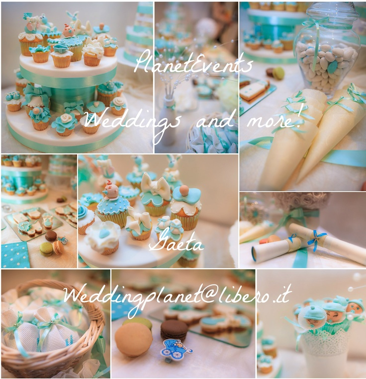 Baby shower party Tiffany style
