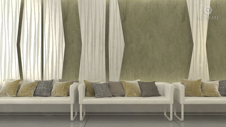 WALL COVERING - ΕΠΕΝΔΥΣΗ ΤΟΙΧΟΥ - METALAXI Innovative Architectural Products. Life is in the details. www.metalaxi.com