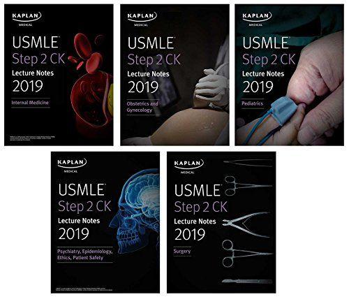 USMLE Step 2 CK Lecture Notes 2019: 5-book set (Kaplan Test Prep