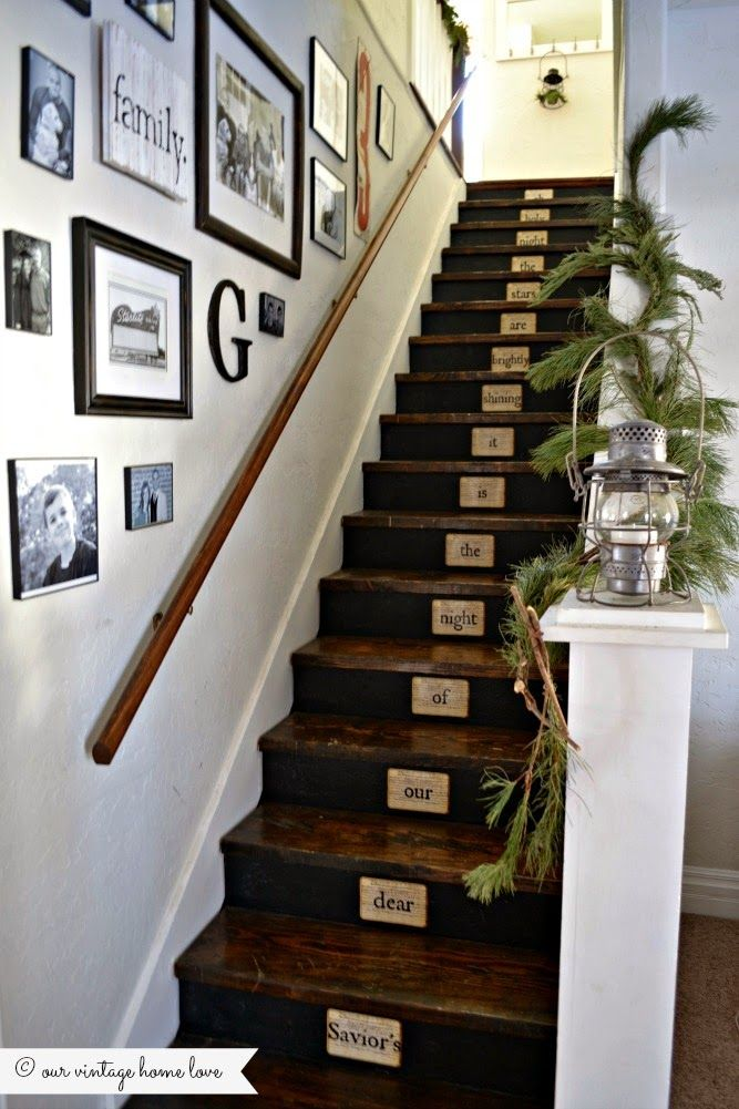 Find This Pin And More On Decor: STAIRS By Funkyjunkdonna.
