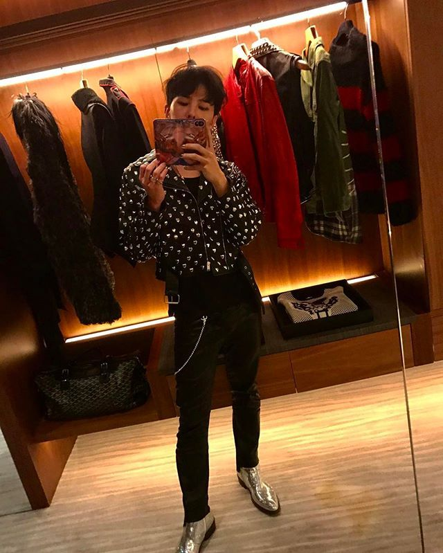 G-Dragon's Instagram Update (170215)