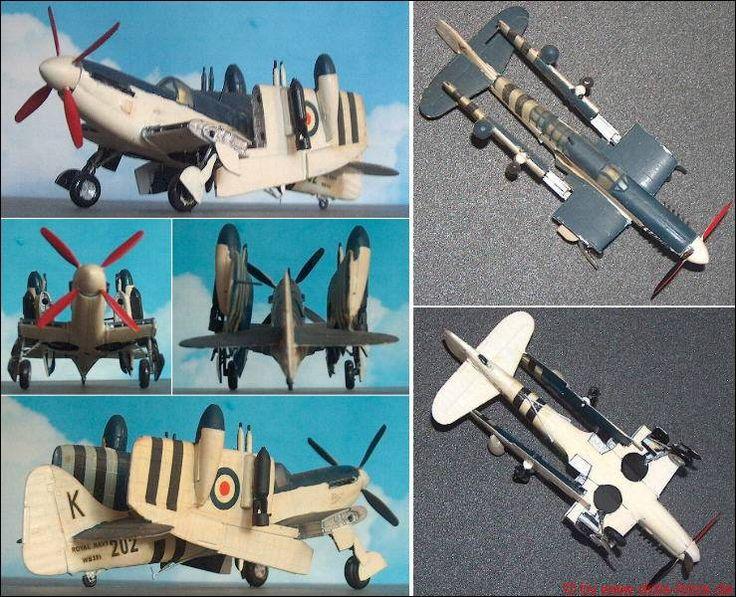 "Fairey ""Firefly"", Marine-Kampfflugzeug (Airfix 2018) 1:72"