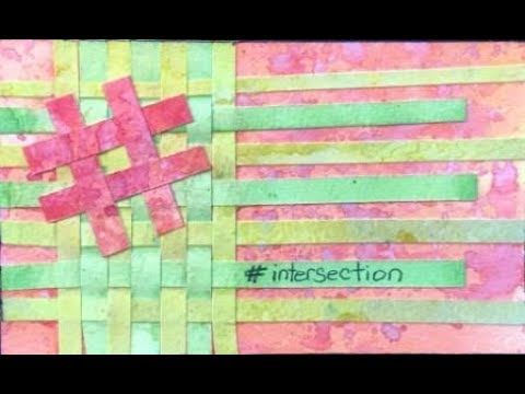 ICAD 2017 Day 48 'intersection' #dyicad2017 #icad2017 #icad #indexcardaday #indexcard #indexcardart #intersection