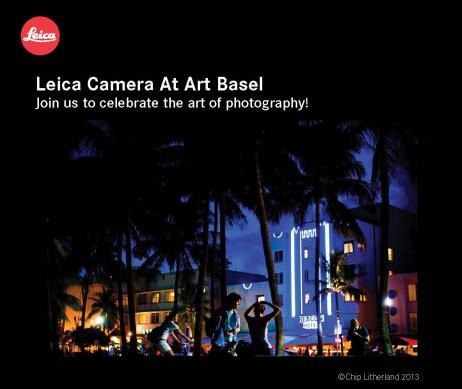 Leica Camera at Art Basel Miami 2013 (video)