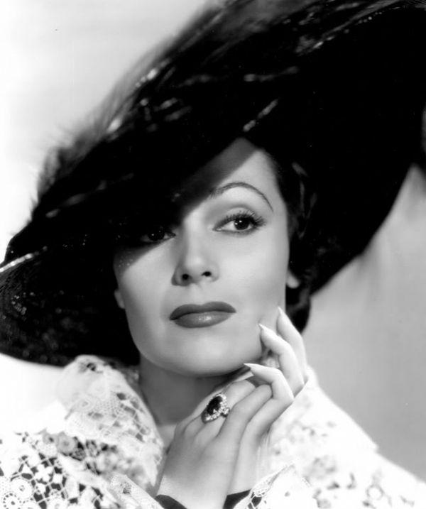 Dolores del Río, gran actriz de la época de oro del cine mexicano.
