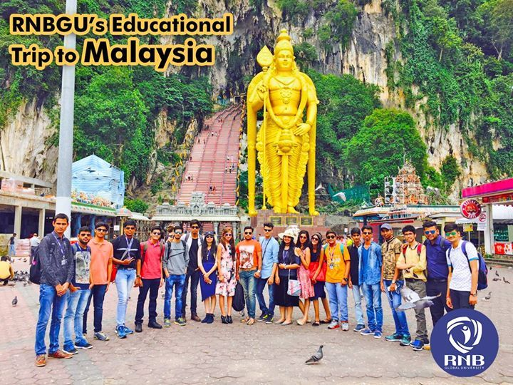 's Educational Trip 2017 to #Malaysia  From visits to #KualaLumpur Tower First World Hotel (#GentingHighland) & #BatuCaves the RNB Global University's educational trip to #Malaysia is its peak in terms of international learning experience exposure & lots of fun. RNB Global University's tremendous efforts towards world class quality education & practical learning approach is helping students to achieve their #career aims. With regular educational & industrial trips the learning experience at…