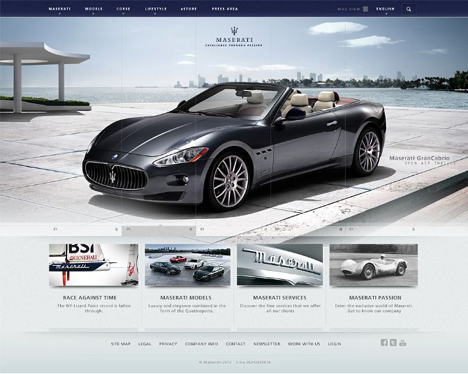 What if we combined luxury and elegance in a worldwide site? - Rodrigo Manfredi