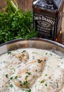 Chicken in Jack Daniels Cream Sauce