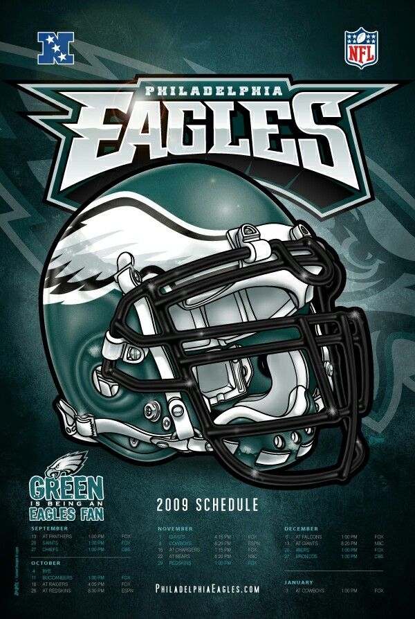 2009 Philadelphia Eagles schedule