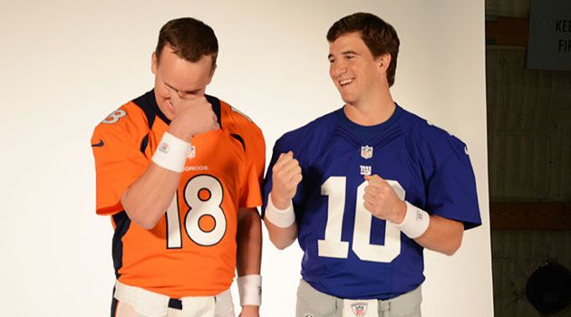 Peyton and Eli, together forever, always my favorite.