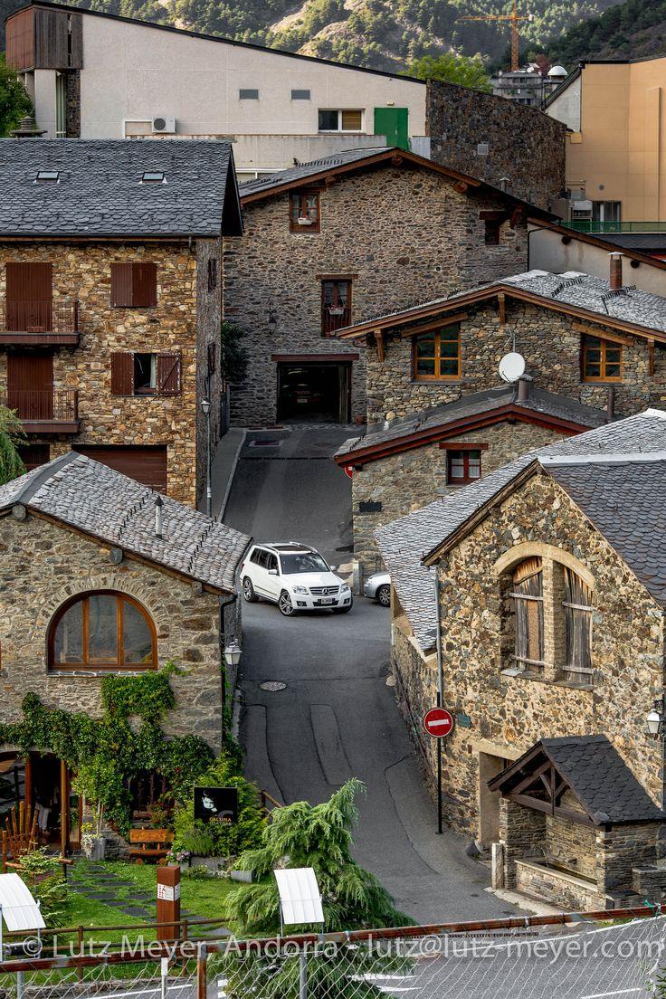 Andorra living: Vall nord, La Massana | Aldosa historical center. La Massana parroquia, Vall nord, Andorra, Pyrenees