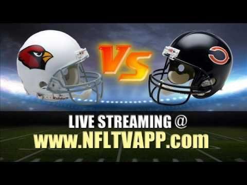 "Watch ""Online"" Arizona Cardinals vs Chicago Bears Live Stream NFL Game"