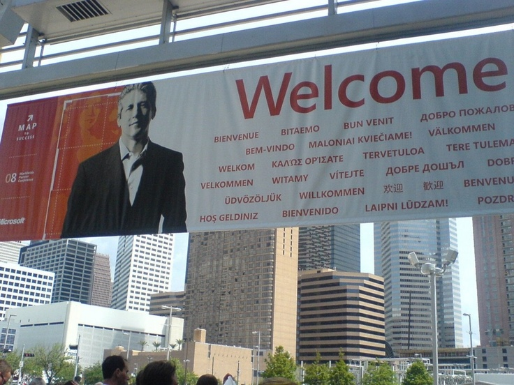Everyones welcome to Houston #WPC08