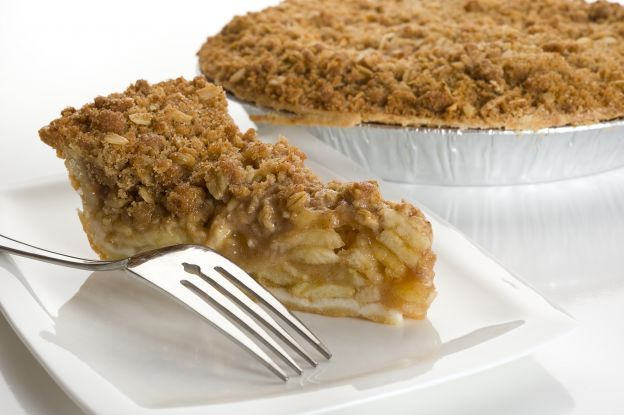 Torta crumble alle mele