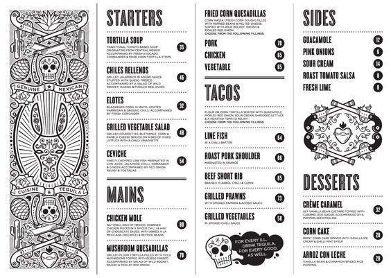 30 best Restaurant Menu Design images on Pinterest Restaurant - how to make a restaurant menu on microsoft word