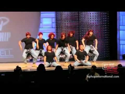 ReQuest Dance Crew(New Zealand) at HHI 2011 World Finals