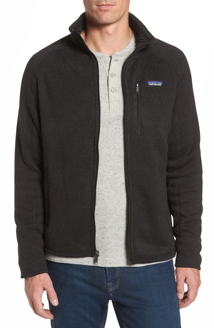 Patagonia Fleece Zip Front Jacket