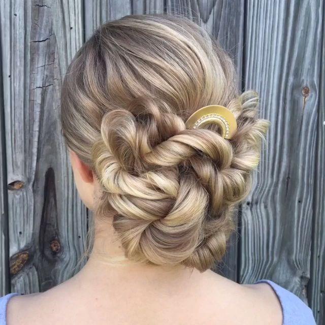 50 glamorous wedding updos! – Bride To Be! – #Bride # for # glamorous #hollywood hairstyles #weddings