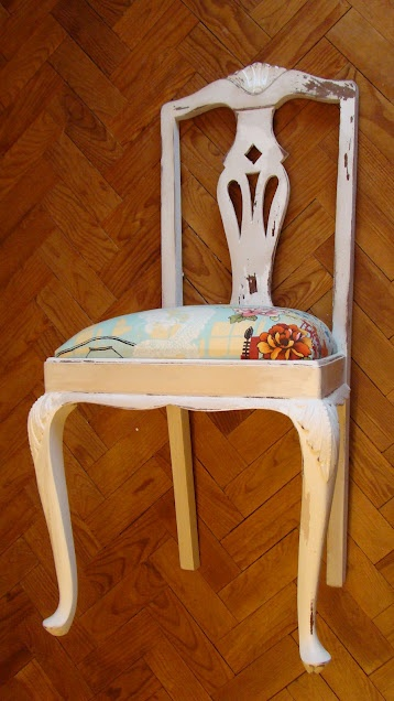 Re-upholster and recover wood work