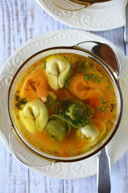 Hankka: Gyors zöldségleves tortellinivel