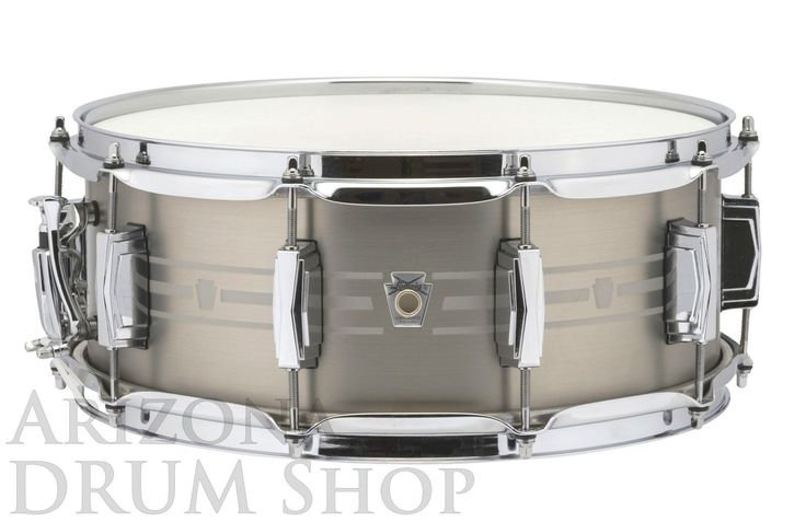 LUDWIG USA 14 x 5.5 Stainless Steel Snare Drum w/FREE Protection Racket Case/Bag