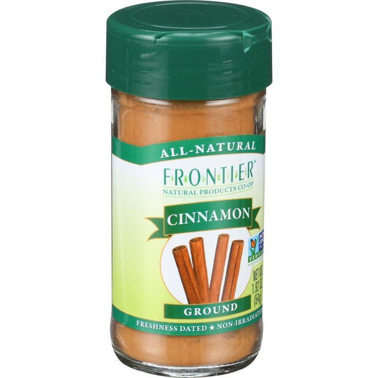 Frontier Herb Cinnamon - Ground - Korintje - 3 Percent Oil - A Grade - 1.92 oz