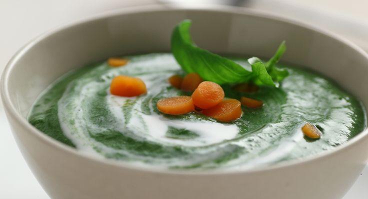 ottima da fare semplice Crema di spinaci mais e Mio