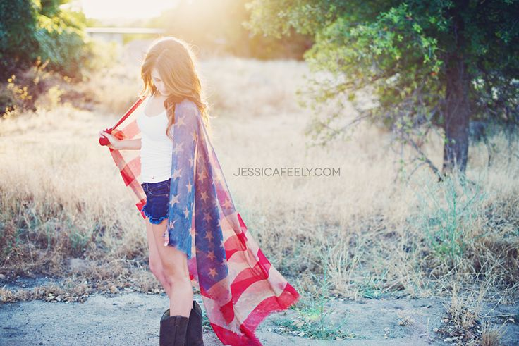 Happy 4th of July :: Senior Portrait Photographer