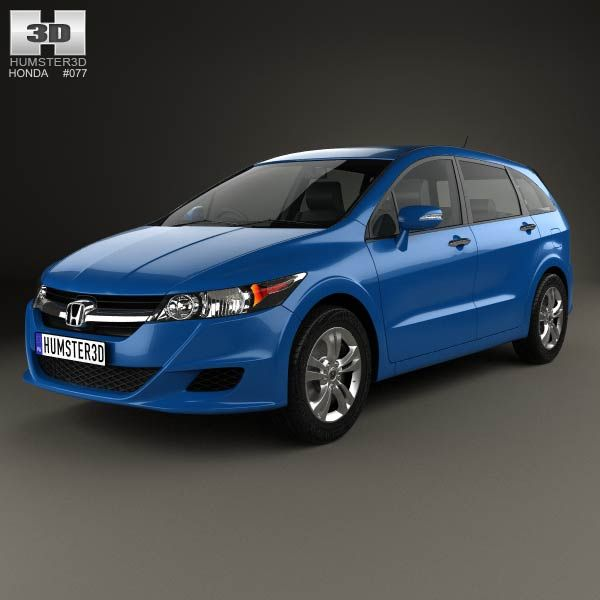 Honda Stream 2009 3d model from humster3d.com. Price: $75